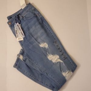Size 19 Blue Spice high waisted jeans